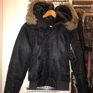 Juicy Couture Black Puffer Jacket
